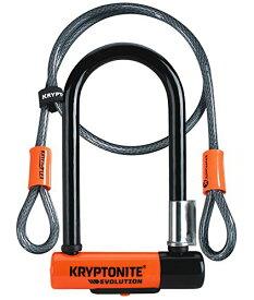 【アウトレット品】KRYPTONITE クリプトナイト Evolution Mini-7 エボリューション ミニ7 U字ロック&120cmフレックスケーブル