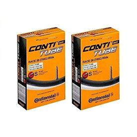 2本セット Continental コンチネンタル チューブ Race28 Wide 700×25-32C 仏式42mm