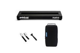 Pedaltrain Nano ペダルトレイン ナノ (PT-NANO-SC エフェクター用ペダルボード&ソフトケース付属モデル)