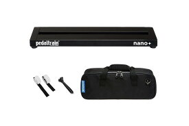 Pedaltrain Nano Plus ペダルトレイン ナノ プラス (PT-NPL-SC エフェクター用ペダルボード&ソフトケース付属モデル)