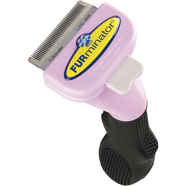 FURminator ファーミネーター 小型猫 S 長毛種用 抜け毛取り お手入れ用ブラシ