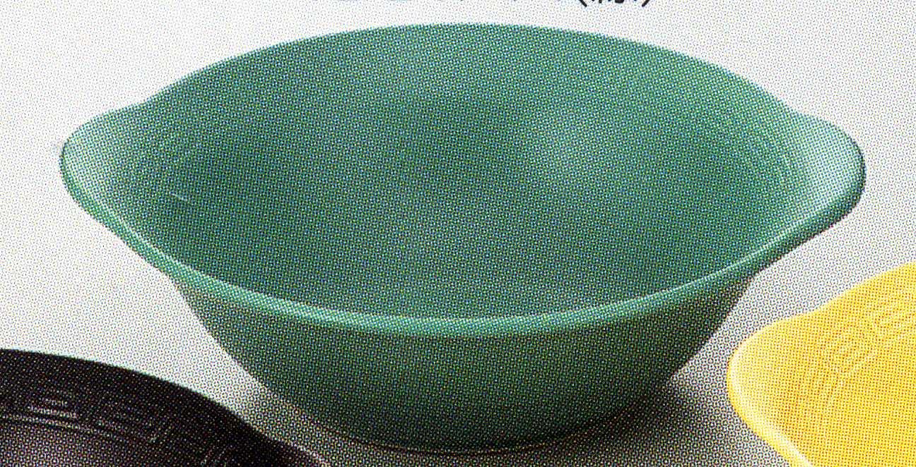 直火耐熱ラーメン鉢 緑