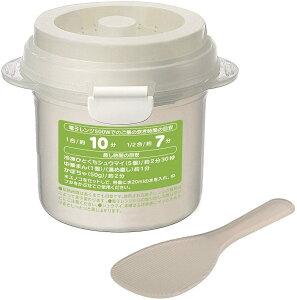 【在庫処分品】電子レンジ専用 ご飯調理容器1合炊き