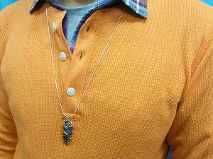 矢じりアローヘッドシルバーペンダント鷲の羽矢尻鏃やじりメンズアクセPOW-WOW銀細工師手仕事いぶし銀一点もの