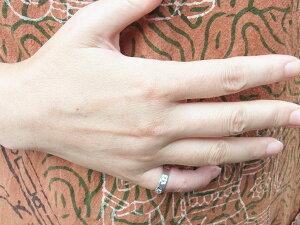 ピンキーリングスター星【受注製作】シルバーリング刻印ハンドメイド指輪銀細工師手作りシンプル925【0.5号〜9号まで】