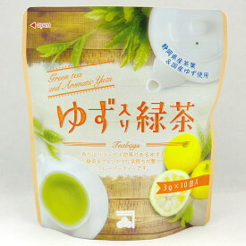 ゆず入り緑茶 ティーバッグ 3g10包 入り TB パワーサポート