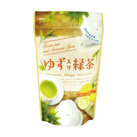 ゆず入り緑茶 ティーバッグ 3g20包 入り TB パワーサポート