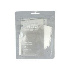 KN95 マスク 1枚入 5層 構造 ほこり 花粉 ホワイト 不織布 マスク 立体型 PM2.5対応 防塵 抗菌 普通 サイズ 立体型 コロナ 過 応援 Kenichi パワーサポート