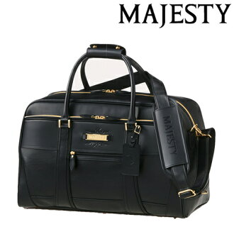 丸万-Maruman-majiesuti Boston Bag宽底旅行皮包BB3440