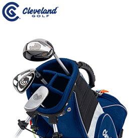 【ゴルフセット】ダンロップ/ クリーブランド/Cleveland ジュニア ゴルフ クラブ SMALL3本セット(FW、I#7、パター)【スモール(対象目安:3〜6歳/90cm〜110cm)】【スタンドキャディーバッグ付き】ゴルフセット クラブフルセット