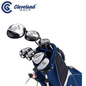 【あす楽】【ゴルフセット】ダンロップ/ クリーブランド/Cleveland ジュニア ゴルフ クラブ LARGE7本セット(#1、FW、UT、I#7、I#9、ウェッジ、パター)【ラージ(対象目安:11〜14歳/140cm〜160cm)】【スタンドキャディーバッグ付き】
