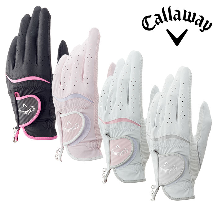 【ゆうパケット対応可能商品】【グローブ系】Callaway-キャロウェイ- Callaway Style Glove Women's 17 JM キャロウェイ スタイル グローブ ウィメンズ 17JM(左手用)【Callaway Golf-キャロウェイゴルフ- 2017年カタログ商品】  スポーツ・アウトドア ゴルフ パワーゴルフ