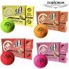 飛衛門-TOBIEMON-tobiemon 2枚熒光墊子高爾夫球距離型1打(12個/12球)| ・ 高爾夫球功率高爾夫球