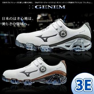Mizuno - Mizuno - MENS GENEM 007 Boa ジェネム 007 boa (men's) golf shoes