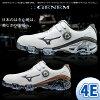 美津濃-美津濃-MENS GENEM 007 Boa jienemu 007毛皮圍巾(男子)高爾夫球鞋