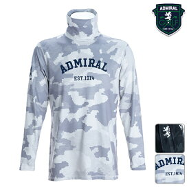 【SALE】アドミラルゴルフ 2019年秋冬モデル メンズ 長袖シャツ タートルネック ADMA9B4 Admiral GOLF【19】