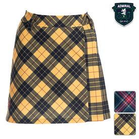 【SALE】アドミラルゴルフ 2019年秋冬モデル レディース スカート ADLA986 Admiral GOLF【19】