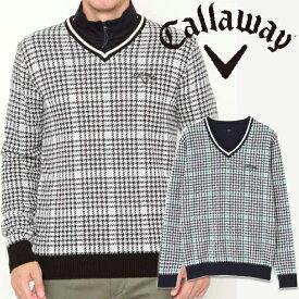 【クリアランスセール】キャロウェイアパレル 2019年秋冬モデル メンズ セーター 241-9260504 Callaway 【19】