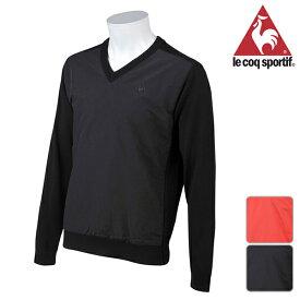 【WEB限定SALE!55%OFF】ルコック ゴルフ 秋冬モデル メンズ セーター QGMMJL05【18】