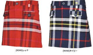 lecoqルコックレディーススカート秋冬モデルQGWMJE10NEW秋冬モデルチェック柄スカート【18】ボトムス911サイズ