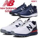 【SALE】ニューバランスゴルフ メンズ ソフトスパイク ゴルフシューズ【足幅:D(やや細め)】NEW BALANCE GOLF【19】mg574v2
