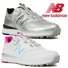 ニューバランスゴルフ レディース ボア ゴルフシューズ スパイクレス wgbs574v2 NEW BALANCE GOLF 2019年秋冬モデル【19】