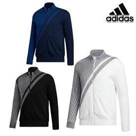 【30%OFF】アディダスゴルフ 2020年秋冬モデル INS52 メンズ ジャカードライニングフルジップセーター(FS6928)ネイビー adidas golf 【20】特価 セール