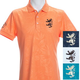 ★残り、オレンジLLサイズ、1枚限り★【30%OFF】アドミラルゴルフ 2020年春夏モデル メンズ 半袖シャツ ADMA046 Admiral GOLF 【20】