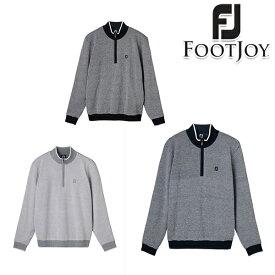【40%OFF】フットジョイ 2019年秋冬モデル メンズ footjoy 防風ハーフジップセーター セーター fjf19m09 【19】