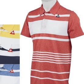【期間限定、45%OFF】ルコック ゴルフ 春夏モデル メンズ 半袖シャツ QGMNJA23 lecoq【19】