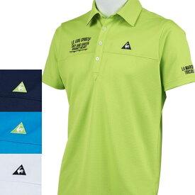【期間限定、25%OFF】ルコック ゴルフ 2020年春夏モデル メンズ 半袖シャツ QGMPJA14【20】
