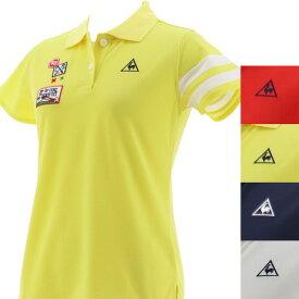 【40%OFF】ルコック ゴルフ 2020年春夏モデル レディース 半袖シャツ QGWPJA00【20】 ゴルフウエア レディース 春夏