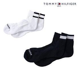トミーヒルフィガー 2020年秋冬モデル メンズ TOMMY HILFIGER GOLF フラッグショートソックス ソックス thmb012f 【20】