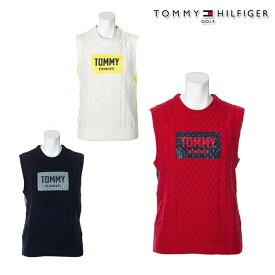 【30%OFF】トミーヒルフィガー 2020年秋冬モデル レディース TOMMY HILFIGER GOLF CREW-NECK KNIT VEST ベスト thla046 【20】セール 特価
