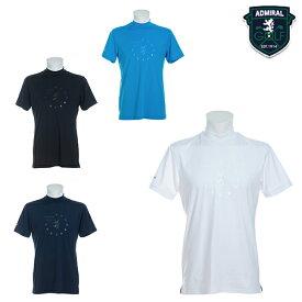 アドミラル 2021年春夏モデル メンズ 半袖 admiral テーマロゴ ハイネックシャツ シャツ adma106 【21】 ゴルフウエア メンズ 春夏