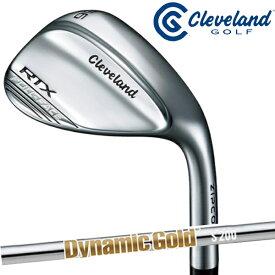【あす楽】クリーブランド Cleveland Golf ウェッジ RTX ZIPCORE(ジップコア) FULL FACE ウェッジ ダイナミックゴールドシャフトS200 【21】