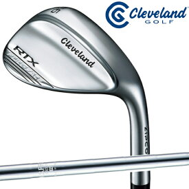 【あす楽】クリーブランド Cleveland Golf ウェッジ RTX ZIPCORE(ジップコア) FULL FACE ウェッジ NS PRO 950GH スチールシャフト【21】