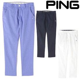 ピン アパレル 2021年春夏モデル メンズ ストレッチパンツ 621-1131004【21】PING ゴルフウエア 春 夏