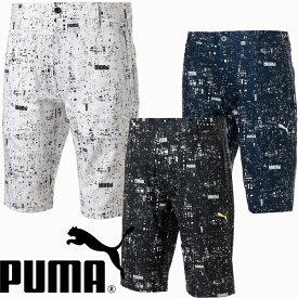 プーマゴルフ 2021年春夏モデル メンズ NIGHTDIGIグラフィックショートパンツ930201 PUMA GOLF【21】プーマ ゴルフ ゴルフウエア 春 夏