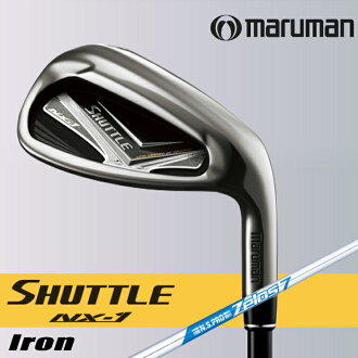 maruman Maruman iron MENS men SHUTTLE NX-1 IRON shuttle N X one iron five set (#6-9,PW)