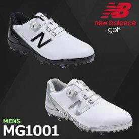 ゴルフシューズ シューズ NEW BALANCE GOLF ニューバランスゴルフ ゴルフシューズ MENS メンズ MG1001 ゴルフシューズ【18】足幅:2E(EE) 靴 ゴルフ用品