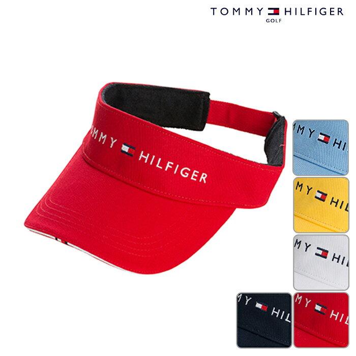 TOMMY HILFIGERトミーヒルフィガー ロゴ バイザー メンズ THMB7DBF 春夏モデル 帽子【17】【ウェア】