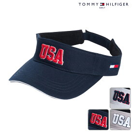 TOMMY HILFIGER トミーヒルフィガー バイザー UNISEX ユニセックス 春夏 THMB804F春夏モデル USAバイザー【18】帽子 ゴルフ用品