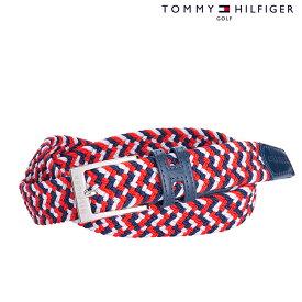 TOMMY HILFIGER トミーヒルフィガー ベルト UNISEX ユニセックス 春夏 THMB8SV2春夏モデル ラバーメッシュ ベルト 【18】ゴルフ用品