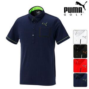 【923514】【春夏モデル】PUMA GOLF-プーマゴルフ- MENS (メンズ) 半袖ポロシャツ 【17】【トップス】【ウエア】M,L,XL,XXLサイズ 【】 ゴルフウエア メンズ 春夏