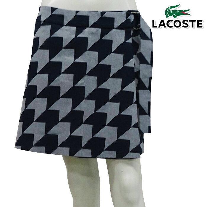 【スカート系】【JF2473】【春夏モデル】LACOSTE-ラコステ- (レディース) 『MADE IN FRANCE』 ギンガムプリント スカート 【17】【ボトムス】【ウエア】36,38,40サイズ