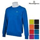 ◆【ニット系】【XSG4301】【40%OFF】【秋冬モデル】Munsingwear-マンシングウエア- MENS(メンズ) 長袖セーター…