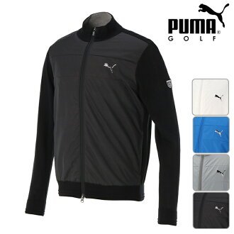 SALE! A sale! PUMA GOLF Puma golf full zip knit MENS men's full zip sweater M,L,XL,XXL size in the fall and winter