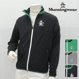 【40%OFF!】Munsingwear マンシングウエア カットソー メンズ 春夏 MGMLJL50 春夏モデル フルジップ スウェット【18】トップス ウエア M L LL 3Lサイズ ゴルフ用品