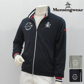 【40%OFF!】Munsingwear マンシングウエア カットソー メンズ 春夏 MGMLJL53 春夏モデル フルジップ スウェット【18】トップス ウエア M L LL 3Lサイズ ゴルフ用品